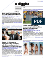 Calcio su diggita