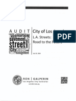 Los Angeles City Controller Office Audit of the Bureau of Street Services