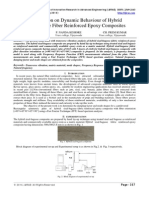 IJIRAE::Investigation on Dynamic Behaviour of Hybrid Sisal/Bagasse Fiber Reinforced Epoxy Composites