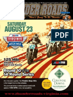 Thunder Roads Virginia Magazine - August 2014