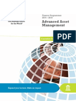 Advanced Asset Management-InSEAD
