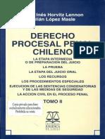 22. Derecho Procesal Penal Chileno Tomo 2 - Horvitz, Maria Ines & Lopez, Julian