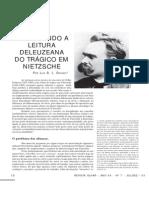 Marginando a Leitura Deleuziana Do Trágico Em Nietzsche