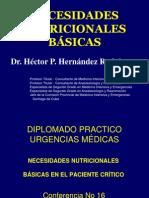 CONFERENCIA 016 - Necesidades nutricionales básicas..ppt