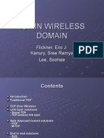 tcp in wirless domain