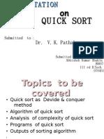 quickSort-abhishekShukla