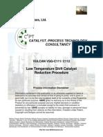 lowtemperatureshiftcatalystreductionprocedure-131108103933-phpapp01