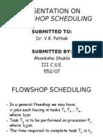 flow shop scheduling