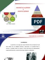 H913 Funciones y Niveles de La Gerencia