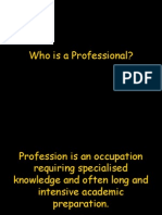 Who is a Professional