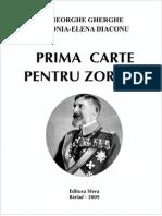 Prima carte pentru Zorleni