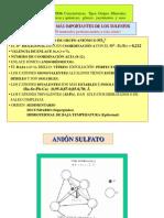 Sulfatos Nuevo