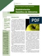 Boletín de Osmodeshidratación