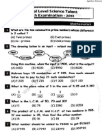 NSTSE 2012 Question Paper for Class 5