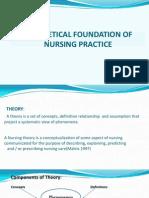 TTheoretical Foundation of Nursing Practice