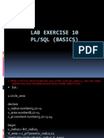 Lab Exercise 10-11-12_PLSQL