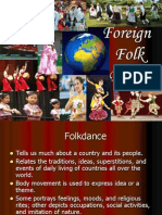 Foreign Folkdance