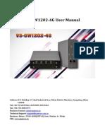 OpenVox VoxStack VS-GW1202-4G User Manual
