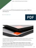 Xataka Windows - Cómo Optimizar El Funcionamiento de Nuestro SSD en Windows 8