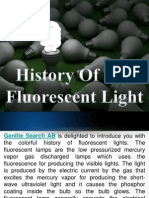 A Colorful History Of The Fluorescent Light