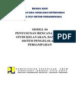 6. Modul 04 Penyusunan Rencana Induk, Studi Kelayakan Dan PTMP Sistem Pengelolaan Persampahan