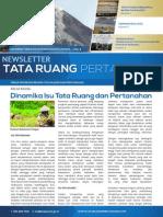 Newsletter Tata Ruang dan Pertanahan (TRP) Edisi Juli 2014
