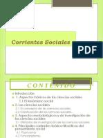Corrientes Sociales PRESENTACION