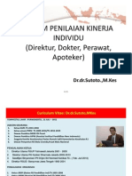 Indikator Kinerja Individu Wspmkp Dr Sutoto