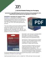 KastKing Breaks Out New Braided Fishing Line Packaging