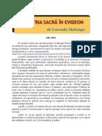 CORRADO MALANGA - GEOMETRIA SACRA IN EVIDEON 2 ( ROMANA)