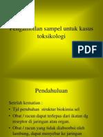 G. Pengambilan Sampel Toksikologi