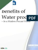 Benefits of Waterproofer in Precast