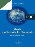 Musik und kosmische Harrmonie von Hazrat Inayat Khan - Leseprobe