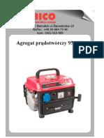 Bico Instrukcja Agregat 950GF