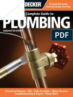 Black & Decker the Complete Guide to Plumbing, Updated 5th Edition - Faucets & Fixtures - PEX - Tubs & Toilets - Water Heaters - Troubleshooting & Repair - Much More