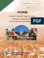 PDRB Kota Bandung Menurut Lapangan Usaha Tahun 2008 - 2011