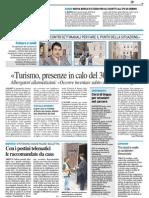Nuova borsa di studio IFG - Il Resto del Carlino del 2 agosto 2014