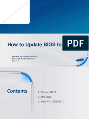 How to Update BIOS for Win8 | Bios | Arquitectura x86