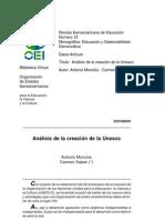 Antonio Monclus y Carmen Saban_Analisis de la creacion de la UNESCO