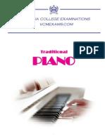 Traditional Piano Syllabus 2014