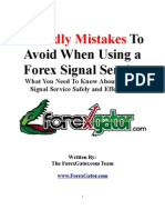 ForexGator 5 Deadly Mistakes