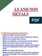 Metal n Nonmetals