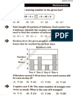 NSTSE 2014 Question Paper for Class 3