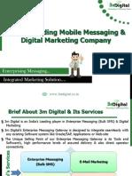 Enterprise Messaging and Integrated Digital Marketing Company-3m Digital
