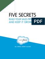 5 Secrets Build Your Sales Pipeline