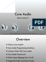 Core Audio Lecture 09