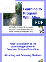 Alice Presentation