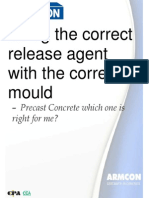 Release Agent Which Should I Use
