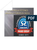 CPVC Pipes & Fittings Manufacturers in India