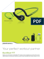 Plantronics Backbeat GO Fit Wireless Headphones
